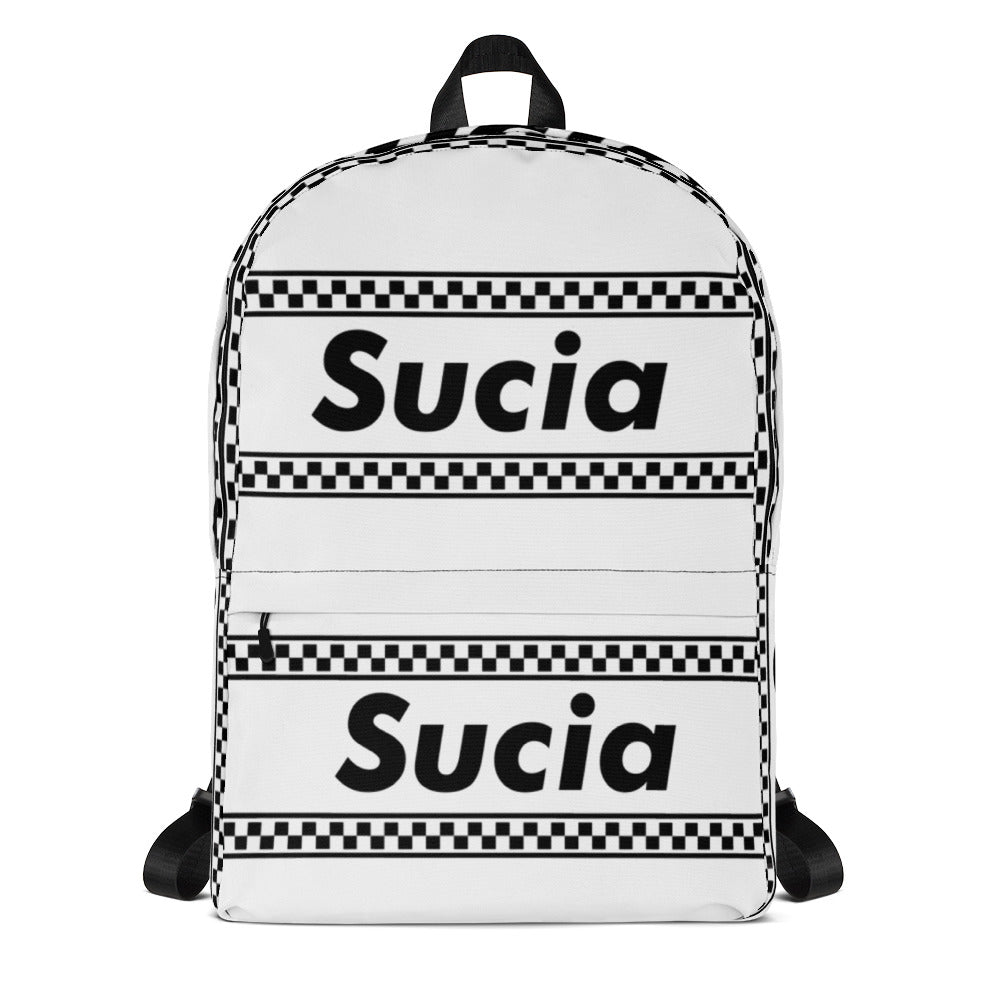 SUCIA - White Backpack