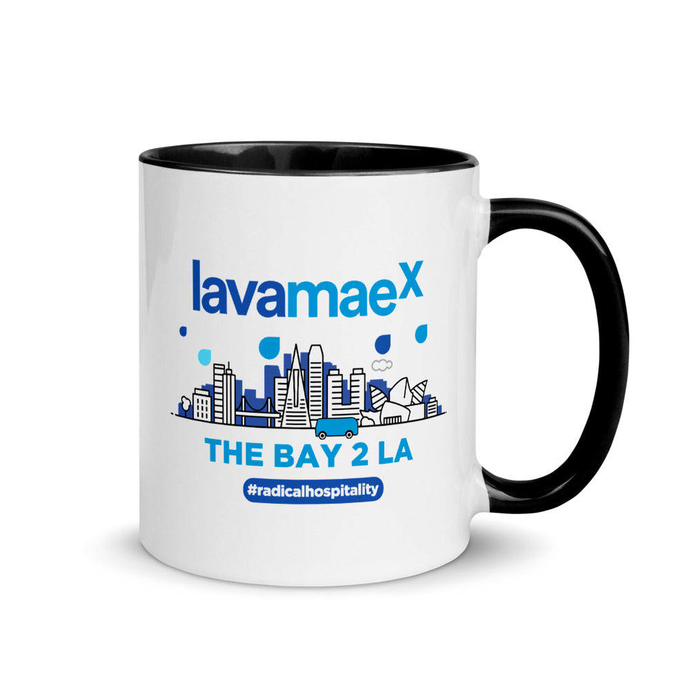 Lava MaeX  THE BAY 2 LA MUG - Beats 4 Hope