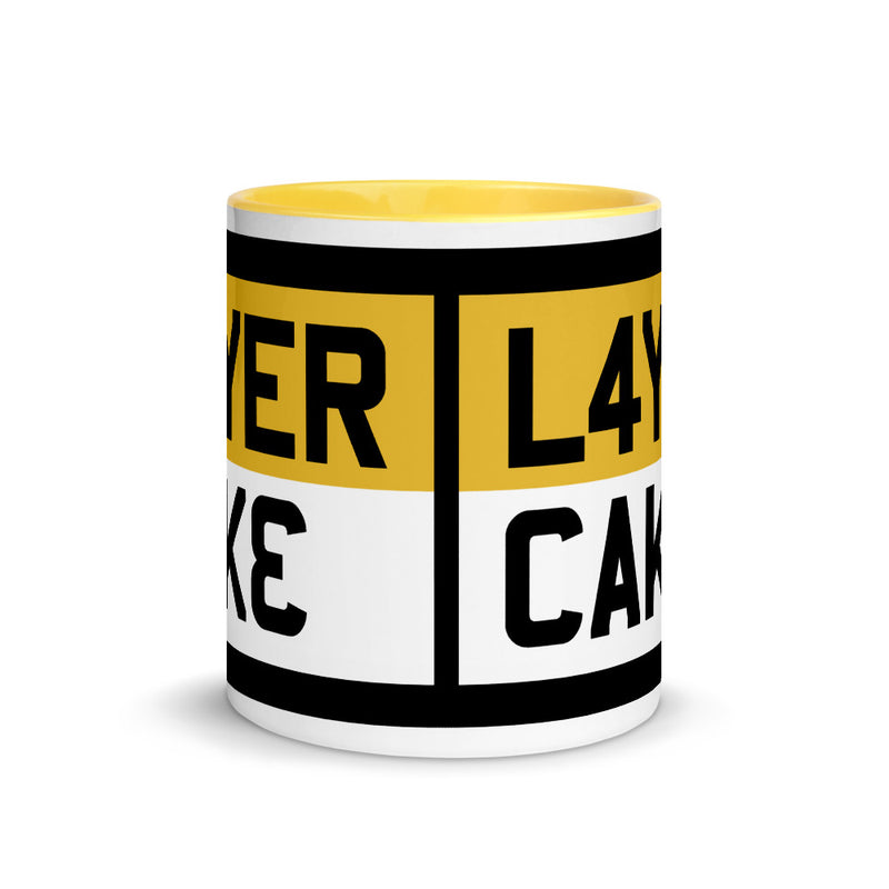 LAYER CAKE Yellow Mug