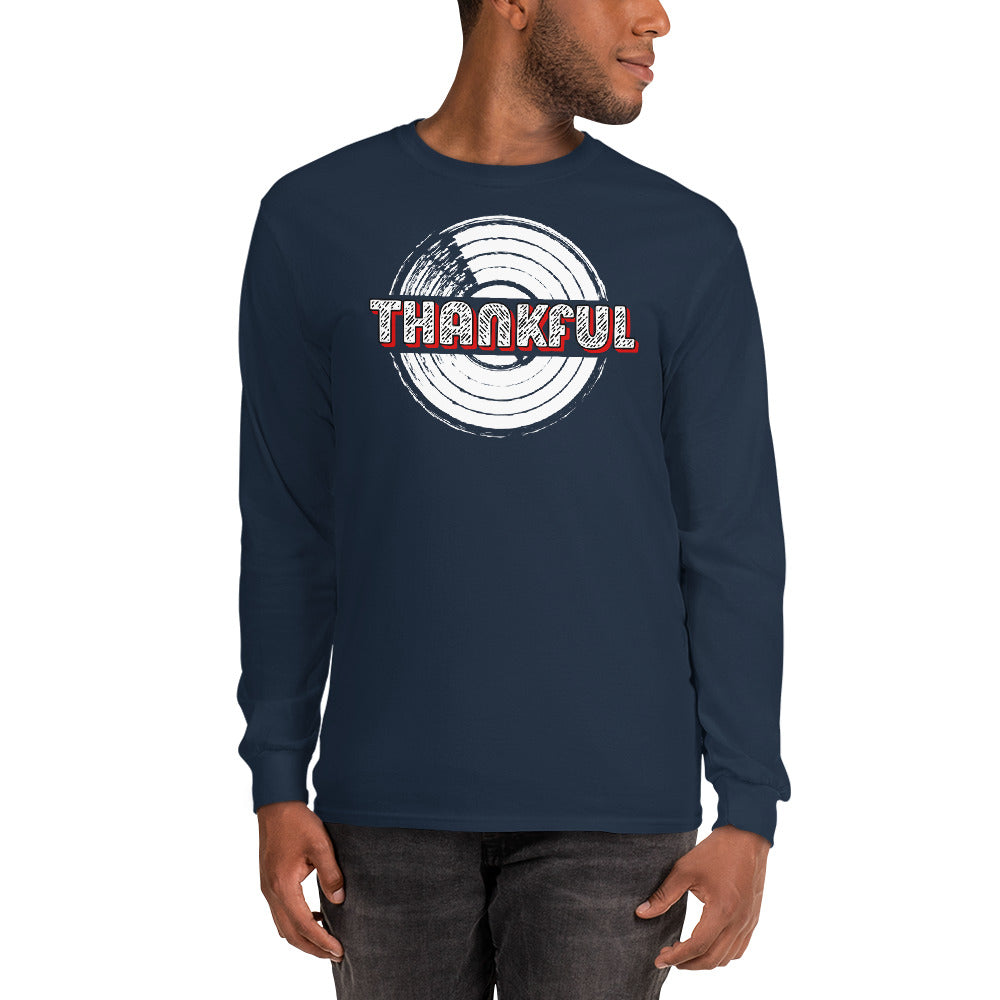THANKFUL FOR WAX - Men's Long Sleeve Shirt