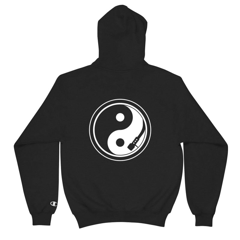 Yin and Yang Turntable Champion Hoodie