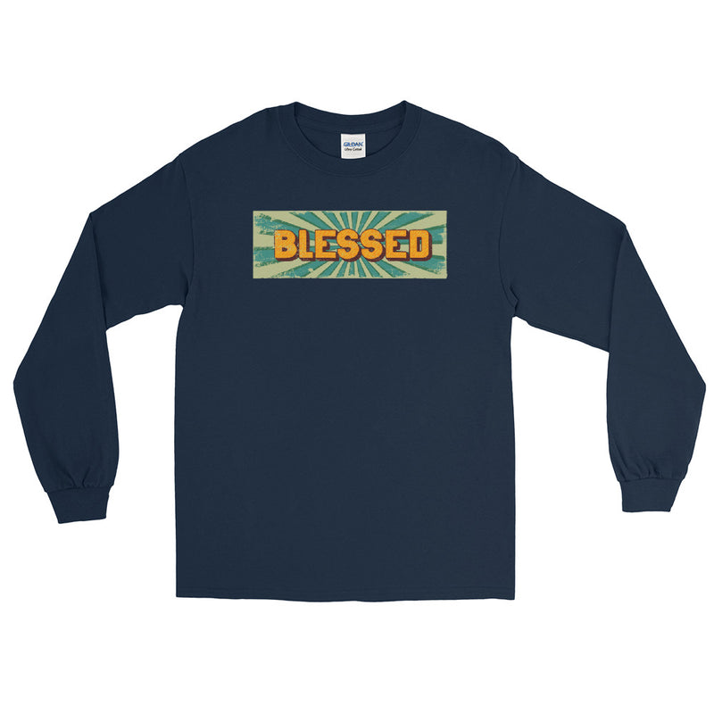 BLESSED - Men's Long Sleeve Shirt - Beats 4 Hope