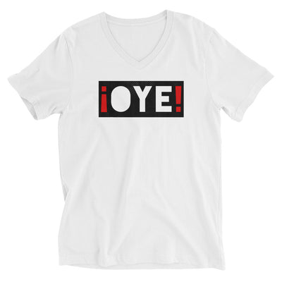 ¡OYE! Unisex V-Neck T-Shirt - Beats 4 Hope