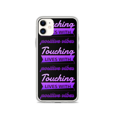 TOUCHING LIVES PURPLE - iPhone Case - Beats 4 Hope