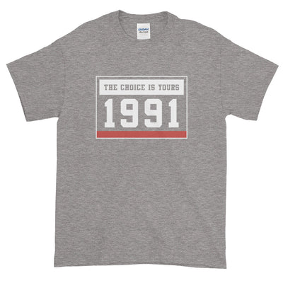 1991 THE CHOICE IS YOURS MEN'S TEE X - Beats 4 Hope