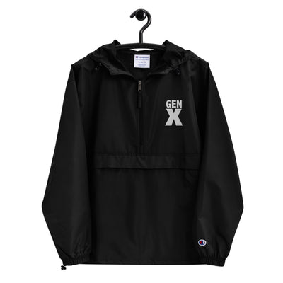 GEN X Embroidered Champion Packable Jacket - Beats 4 Hope
