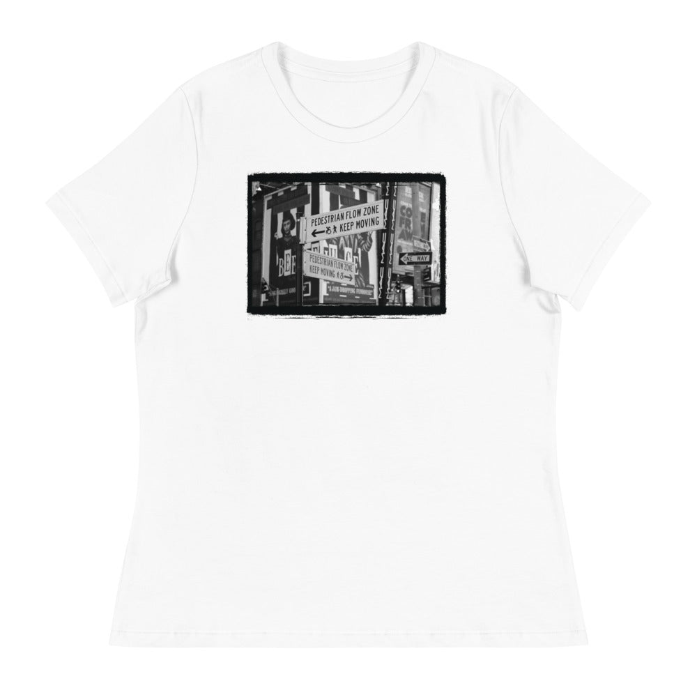 TIMES SQUARE Women's T-Shirt - Beats 4 Hope