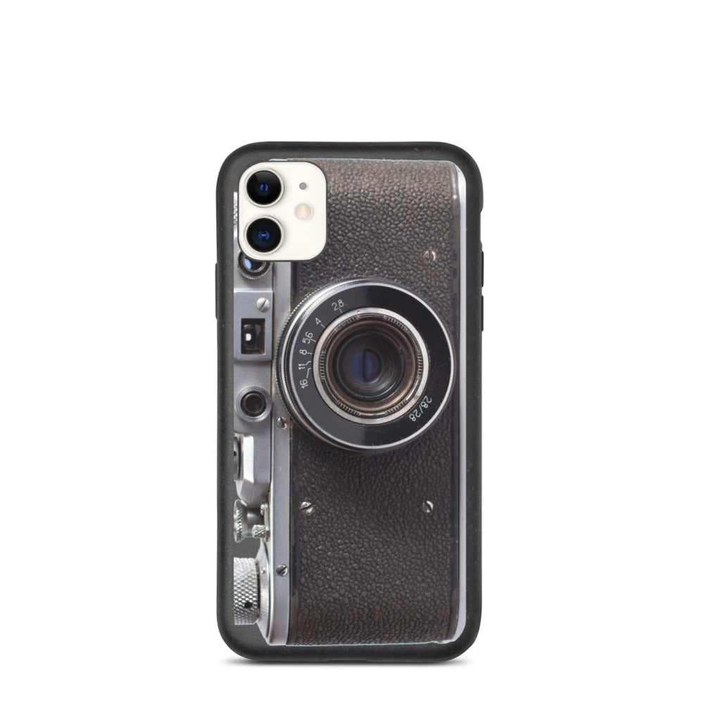 Biodegradable Retro Camera phone case - Beats 4 Hope