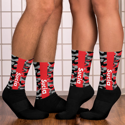 SUCIA RED Socks - Beats 4 Hope