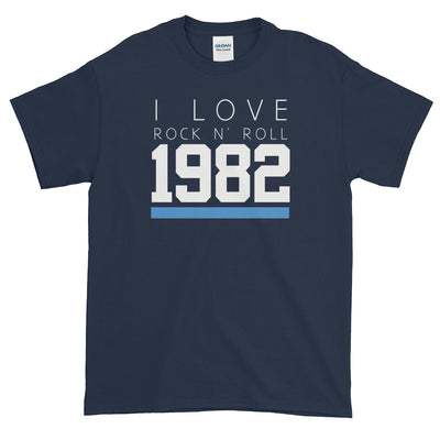 1982 I LOVE ROCK AND ROLL Men's T-Shirt - Beats 4 Hope