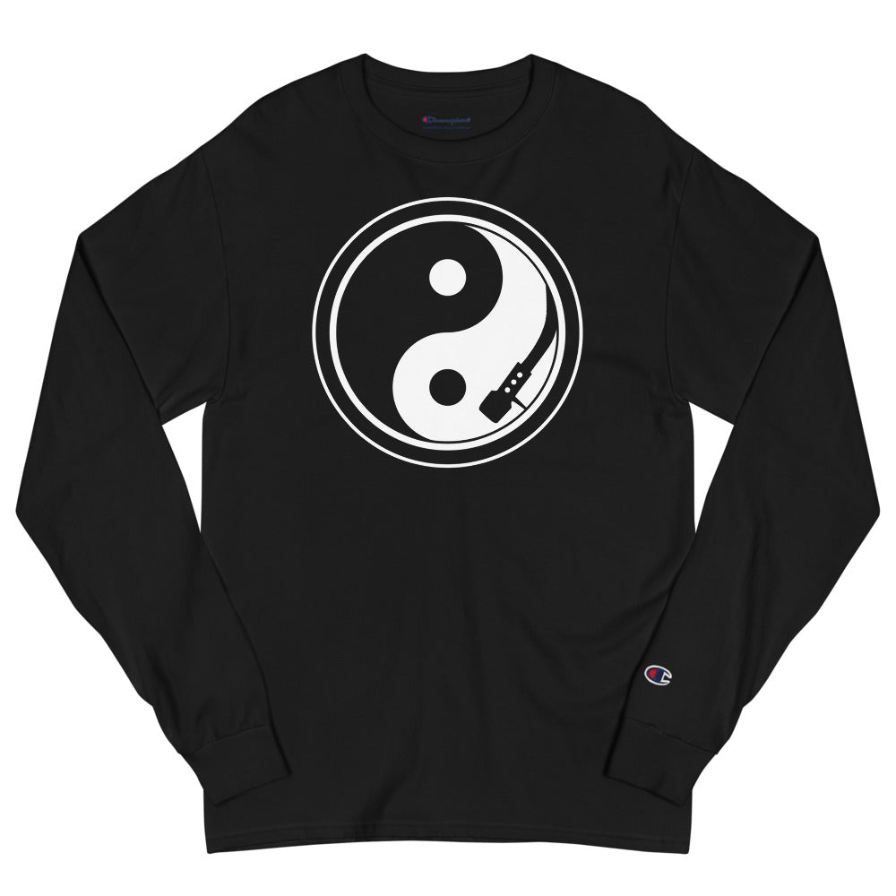 YIN AND YANG  DJ Champion Long Sleeve T-Shirt - Beats 4 Hope