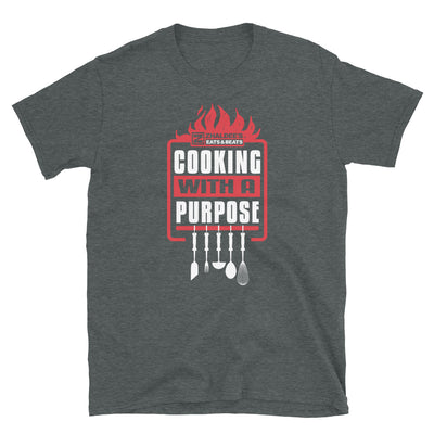 COOKING WITH A PURPOSE - Short-Sleeve Unisex T-Shirt - Beats 4 Hope