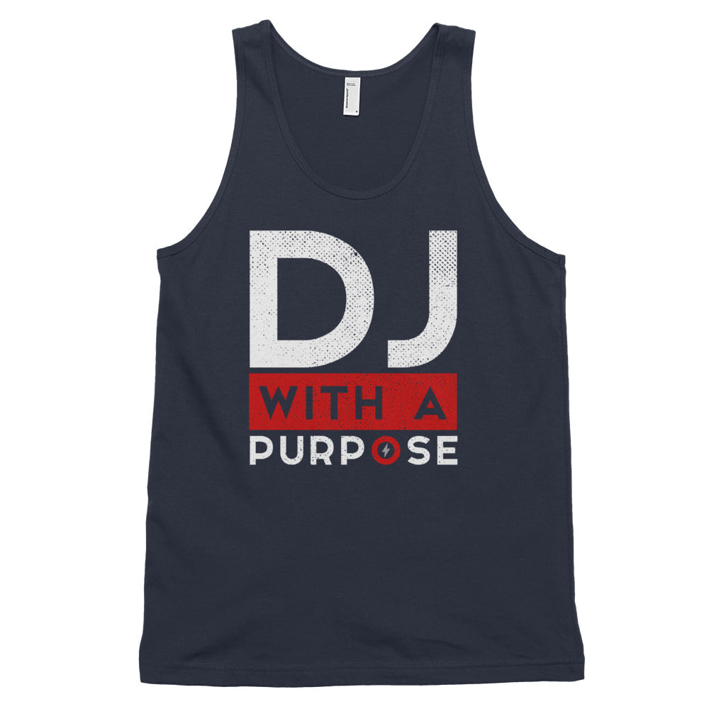 DJ WITH A PURPOSE Classic Unisex Tank Top
