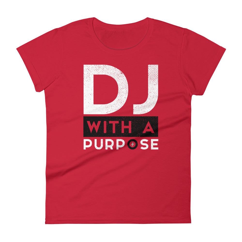 DJ WITH A PURPOSE - Women's T-Shirt - Beats 4 Hope