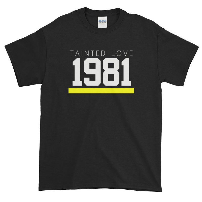 1981 TAINTED LOVE MEN'S TEE - Beats 4 Hope