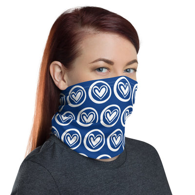 BLUE HEARTS Neck Gaiter - Beats 4 Hope