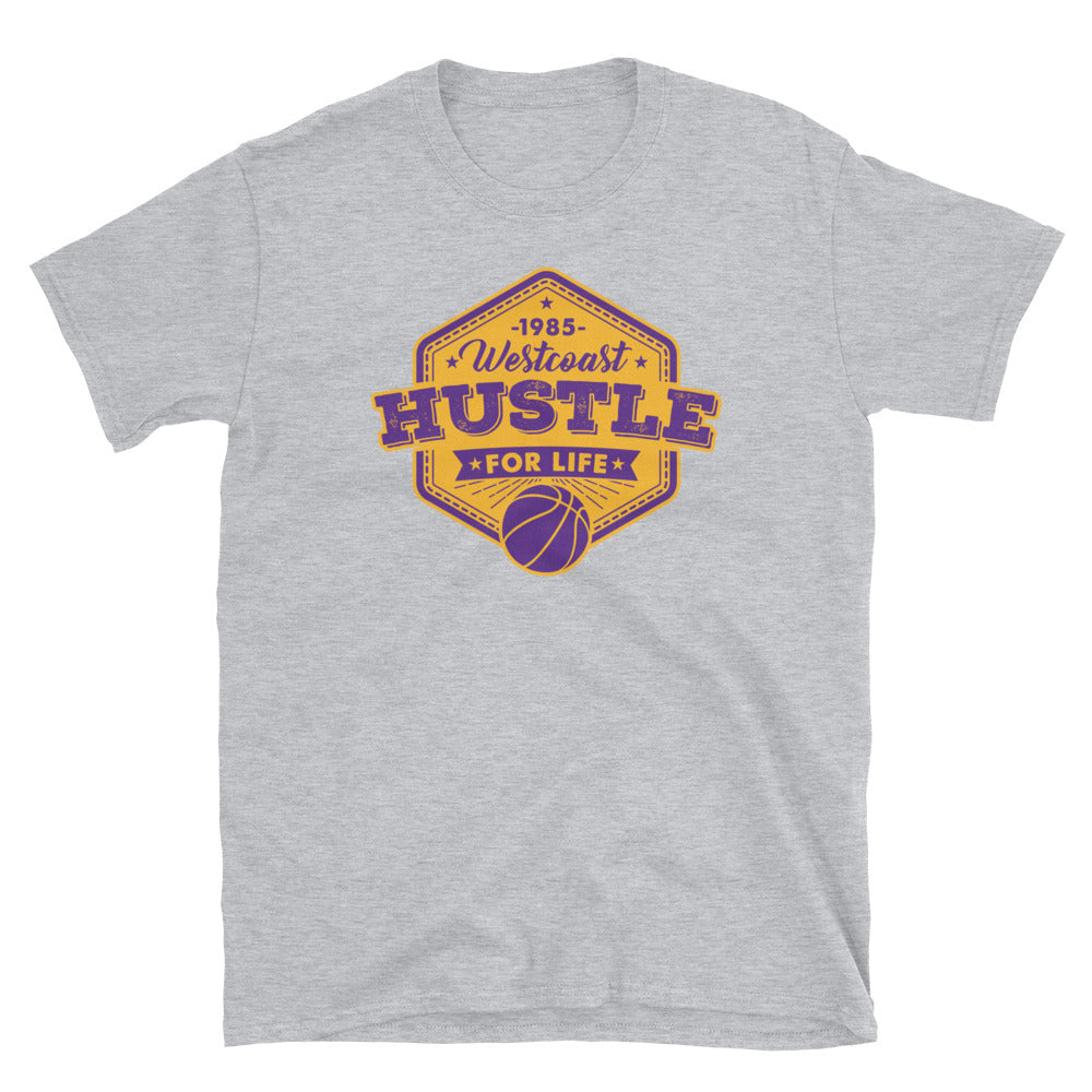 1985 West Coast Hustle - Lakers Vibe T-Shirt