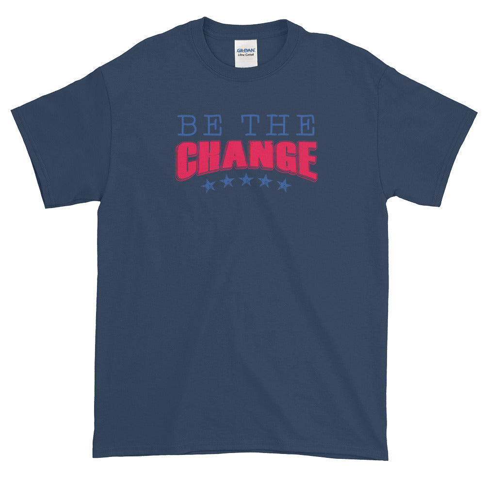 BE THE CHANGE MEN'S X T-Shirt