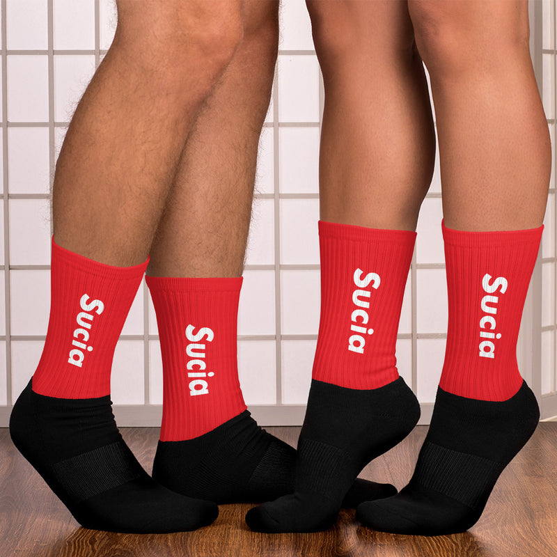 SUCIA DEEP RED Socks