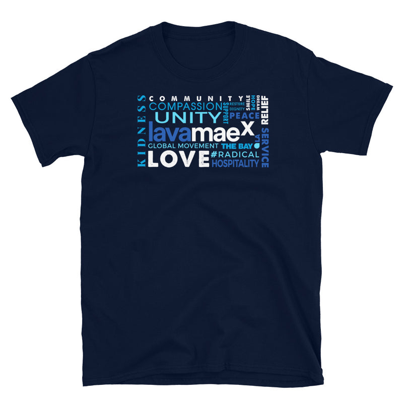 LAVA MAEX - The Definition Unisex T-Shirt - Beats 4 Hope