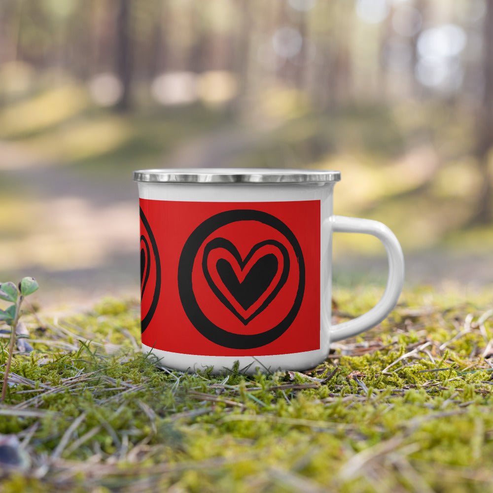 SURROUNDED BY LOVE Red Mug - Beats 4 Hope