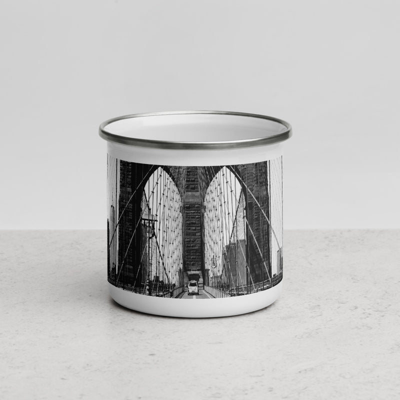 BROOKLYN BRIDGE - Enamel Mug