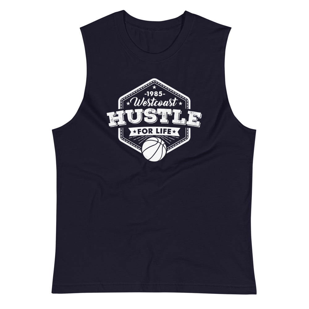 WESTCOAST HUSTLE BALLER Muscle Shirt - Beats 4 Hope