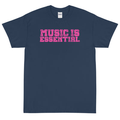 MUSIC IS ESSENTIAL PINK Men's X T-Shirt