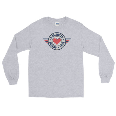 POSITIVE, LOVE, ENERGY - Men's Long Sleeve Shirt - Beats 4 Hope