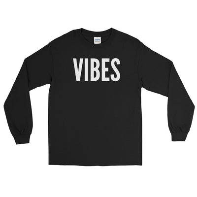 VIBES - Men's Long Sleeve Shirt - Beats 4 Hope
