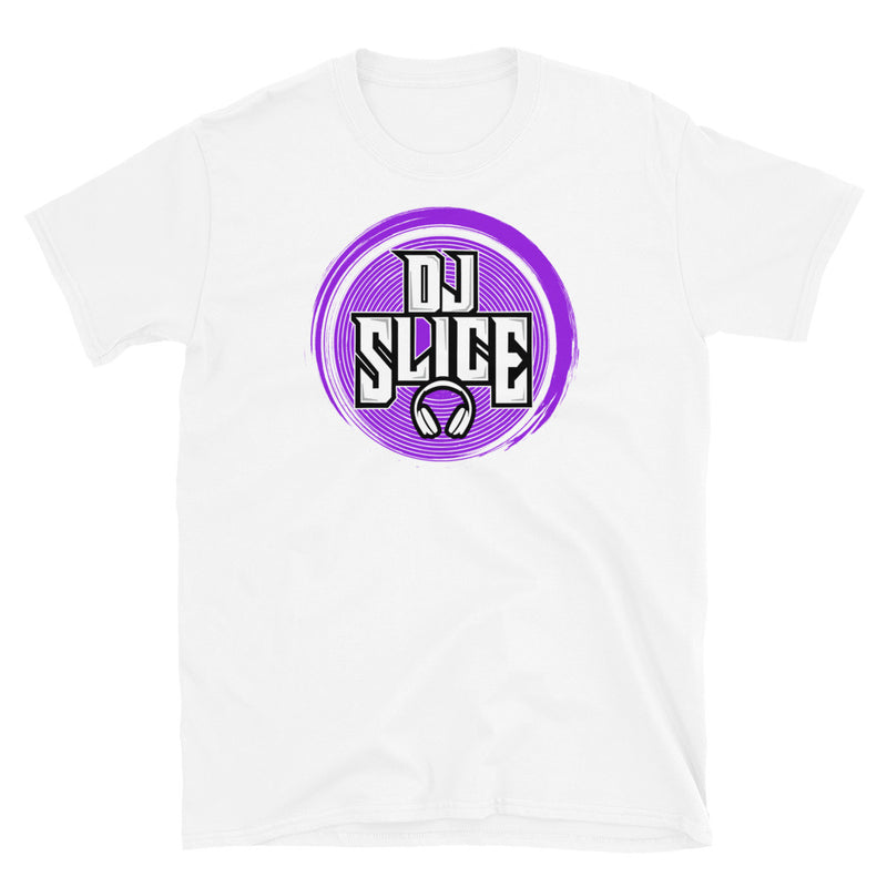 DJ SLICE PURPLE LOGO T-SHIRT