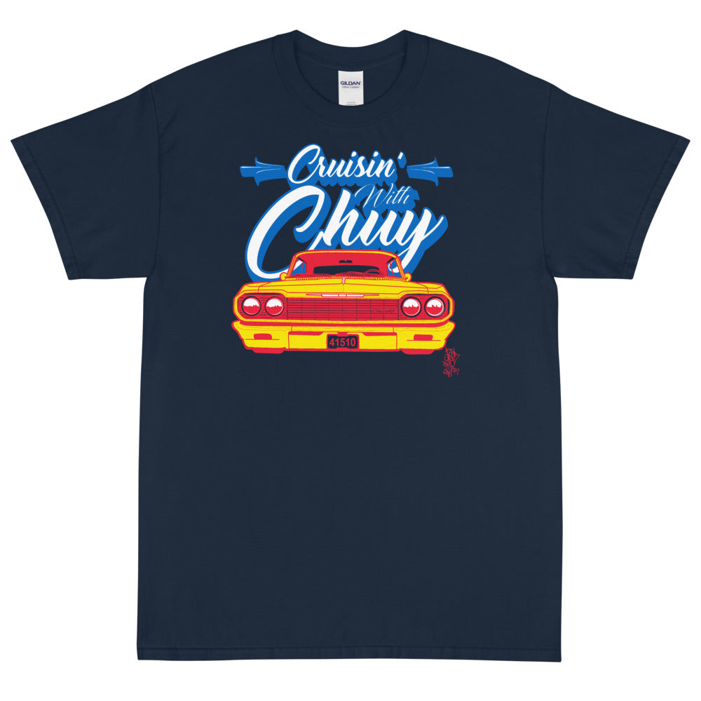CRUISIN WITH CHUY PALOMA Men's X T-Shirt - Beats 4 Hope
