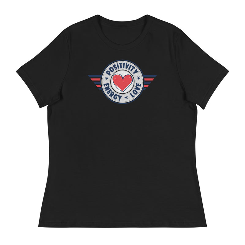 POSITIVE, LOVE, ENERGY - Women's T-Shirt