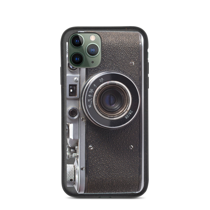 Biodegradable Retro Camera phone case