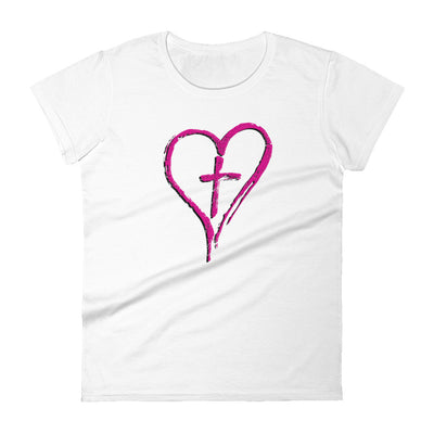 CROSS MY HEART Women's Cut T-Shirt - Beats 4 Hope