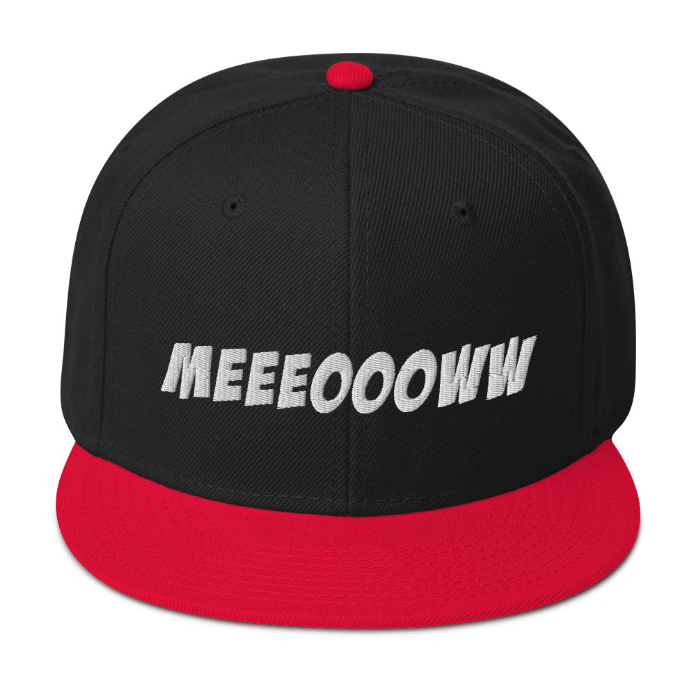 MEEEOOOWW - Snapback Hat - Beats 4 Hope