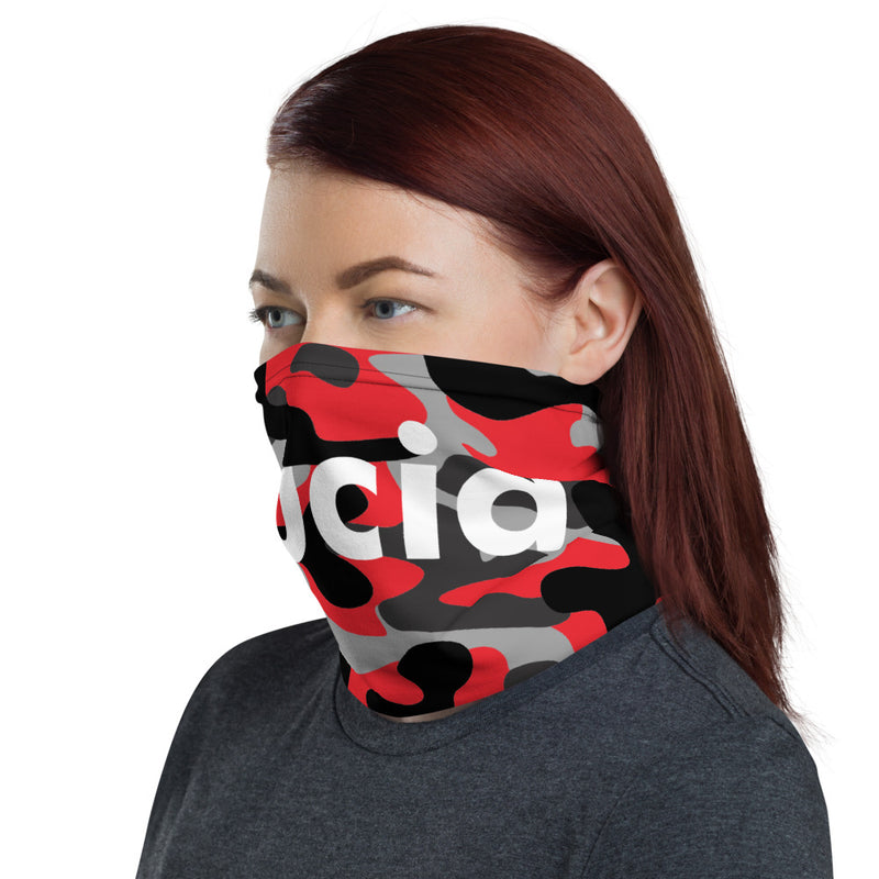 SUCIA RED CAMO Neck Gaiter