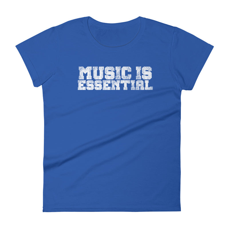 MUSIC IS ESSENTIAL - Women's T-Shirt - Beats 4 Hope