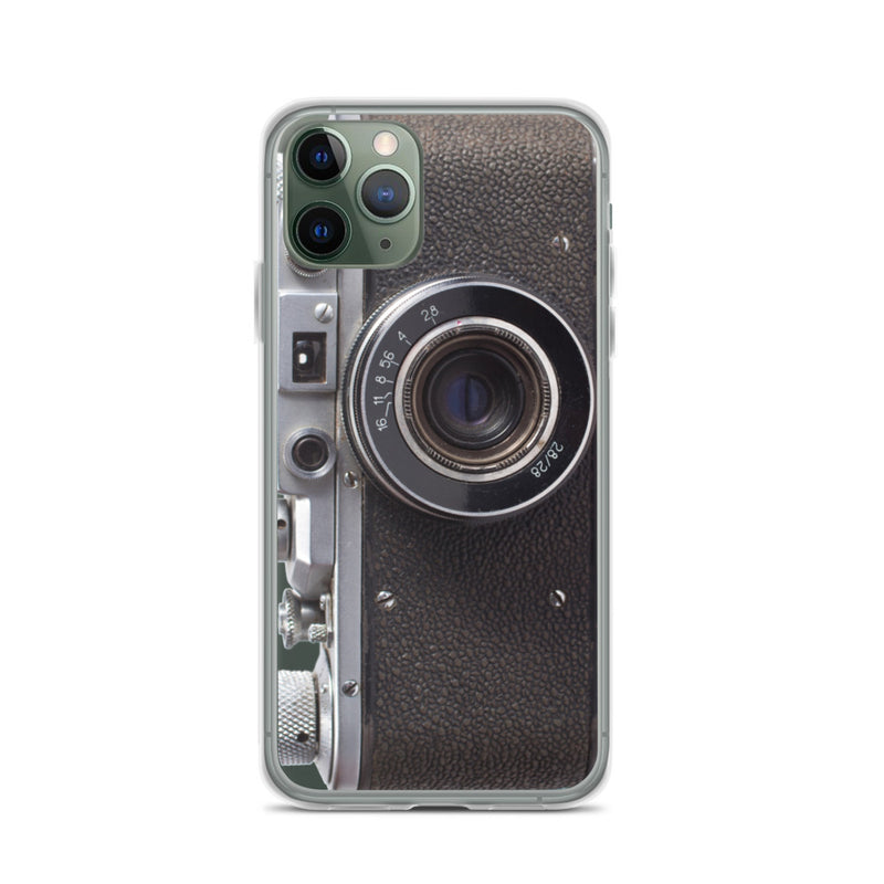 RETRO BLACK CAMERA iPhone Case & Cover