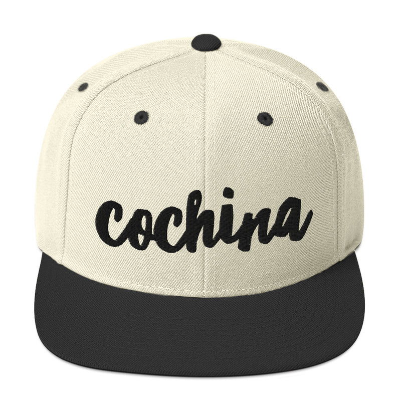 COCHINA Snapback Hat - Beats 4 Hope