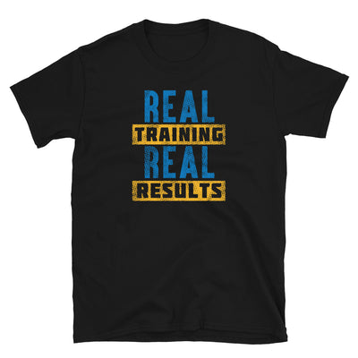 REAL TRAINING REAL RESULTS T-Shirt - Beats 4 Hope