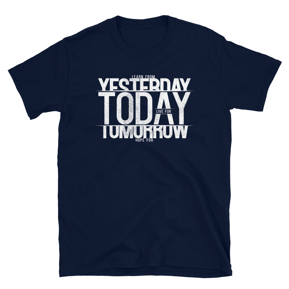 YESTERDAY TODAY TOMORROW T-Shirt - Beats 4 Hope