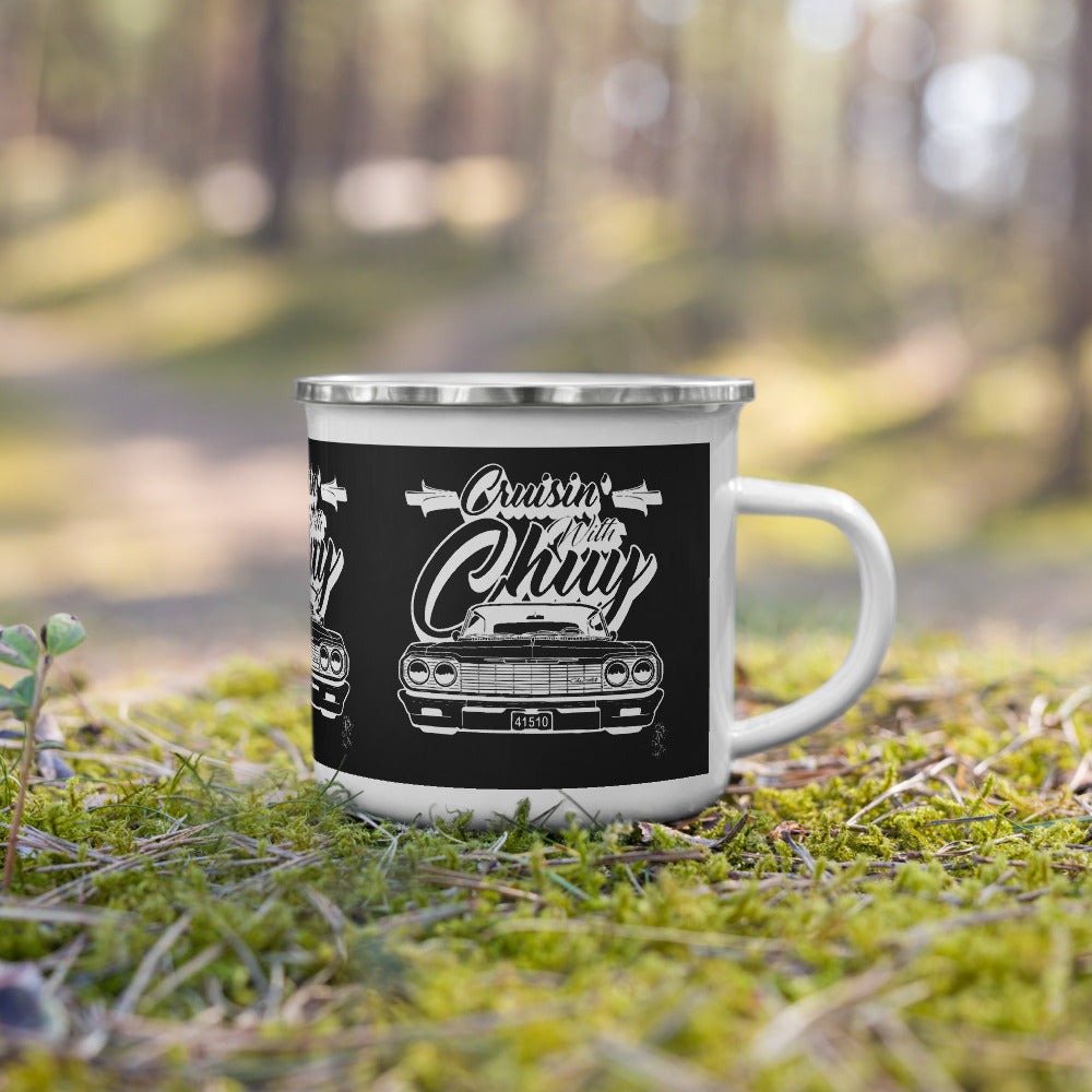CRUISIN WITH CHUY Enamel Mug - Beats 4 Hope
