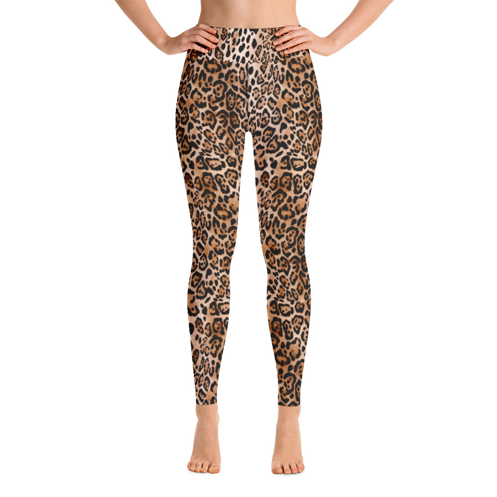 LEOPARD Yoga Leggings - Beats 4 Hope
