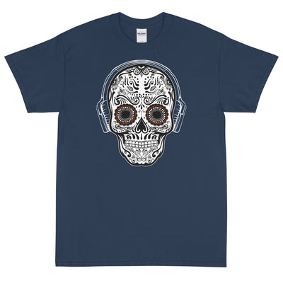 SUGAR BEATS SKULL MEN'S X T-Shirt - Beats 4 Hope