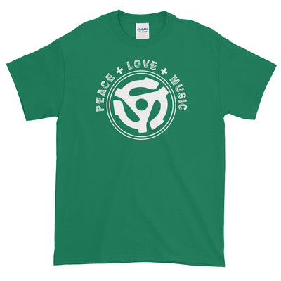 PEACE LOVE MUSIC Men's X T-Shirt - Beats 4 Hope