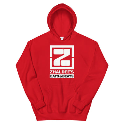 ZHALDEE BEATS & EATS Hoodie - Red / S - Red / M - Red / L - Red / XL - Red / 2XL - Red / 3XL - Red / 4XL