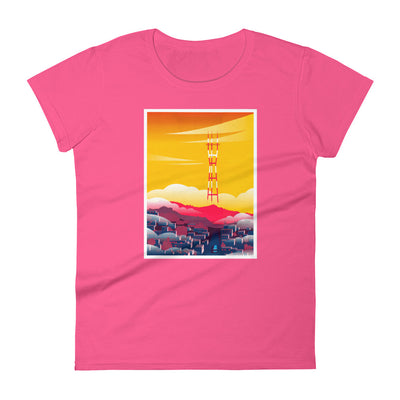 LavaMaeˣ San Francisco Bay Women's T-Shirt - Beats 4 Hope