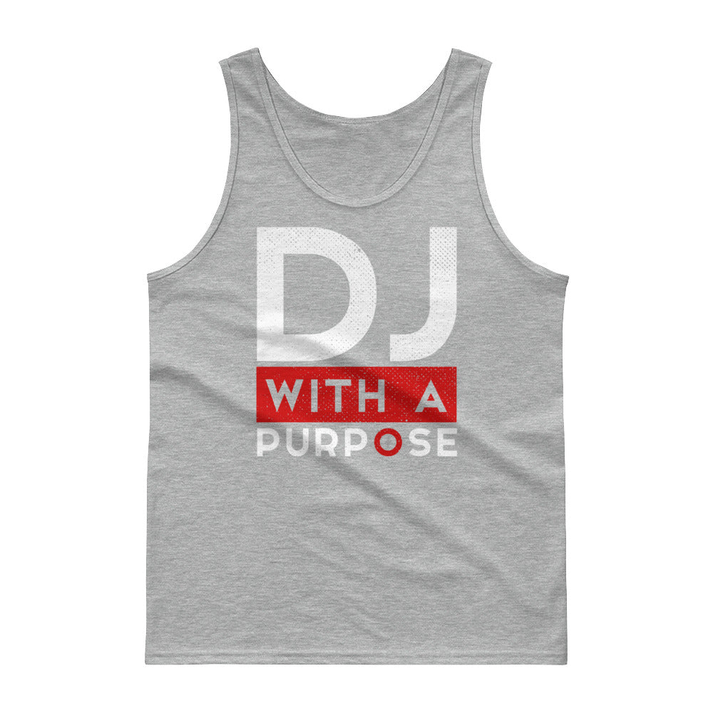 DJ WITH A PURPOSE Men's Classic Tank top