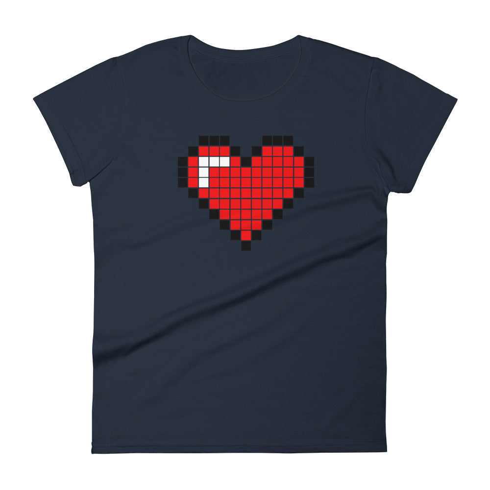 DIGITAL HEART - Women's T-Shirt